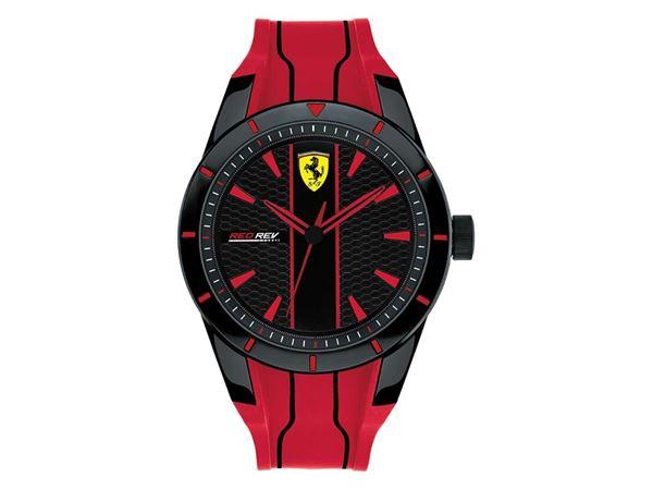 Zorba Buda Reloj Para Caballero Ferrari Red Rev 830481 Negro